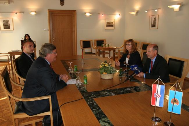 prijam za novog češkog veleposlanika