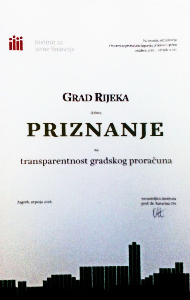 transparentnost proračuna