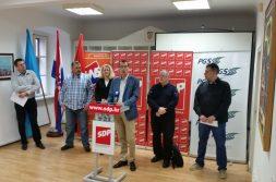 SDP-ova koalicija predstavila je svoje kandidate u dijelu mjesnih odbora