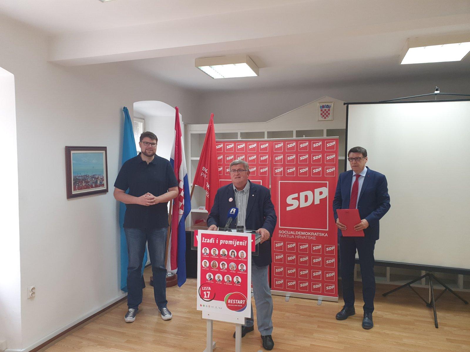 Peđa Grbin, Željko Jovanović i Vojko Obersnel