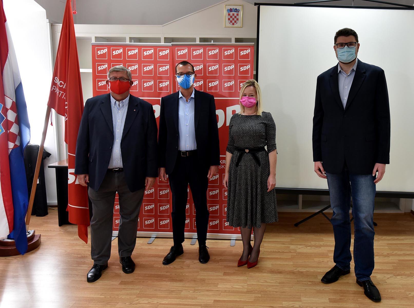 SDP-ovi kandidati za riječkoga gradonačelnika i njegovu zamjenicu
